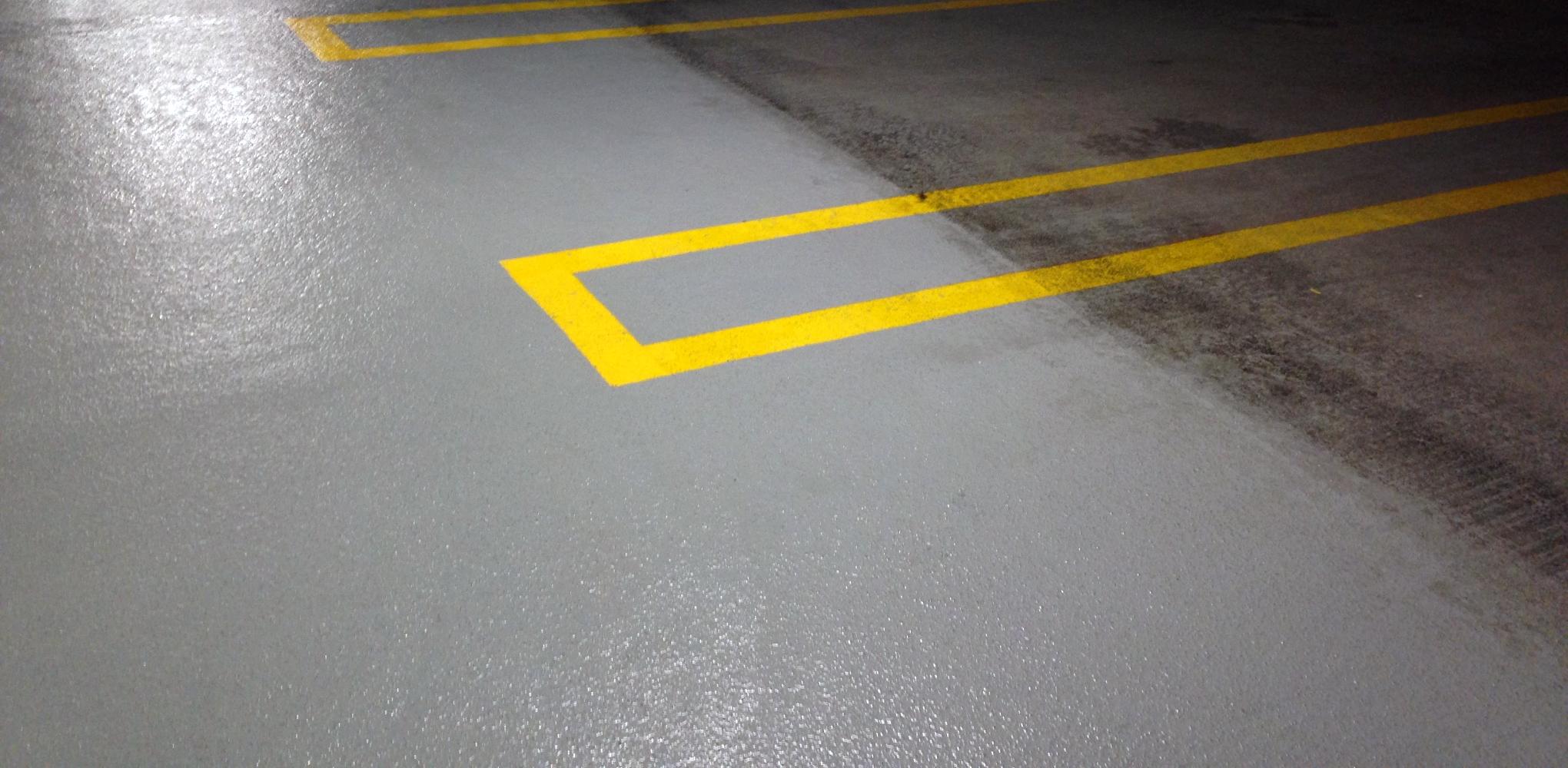 Baltimore Pressure Washing Parking Garage