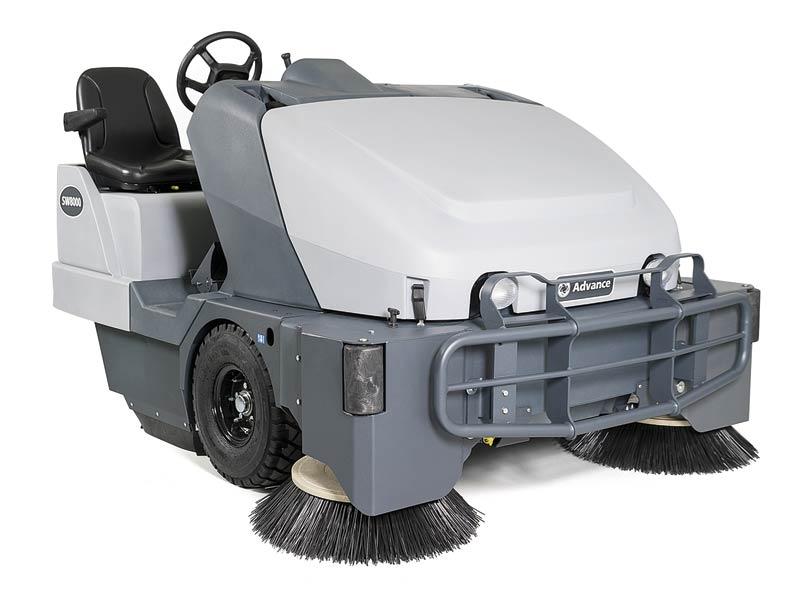 Parking Garage Sweeper