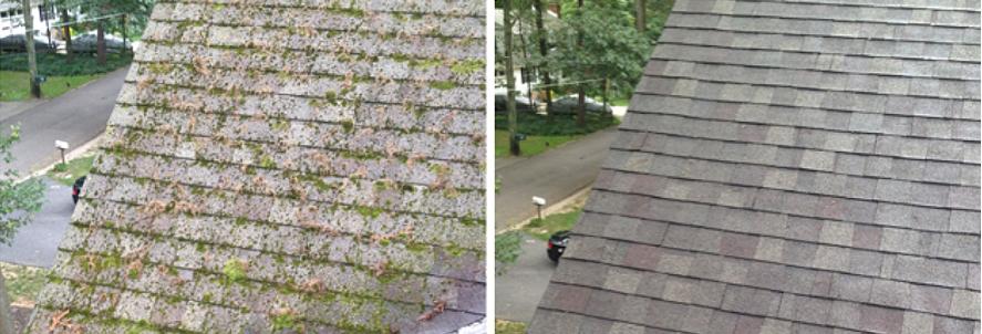 Roof Washing - Asphalt