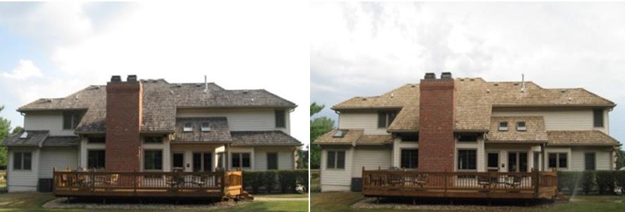 Roof Washing - Cedar Shake