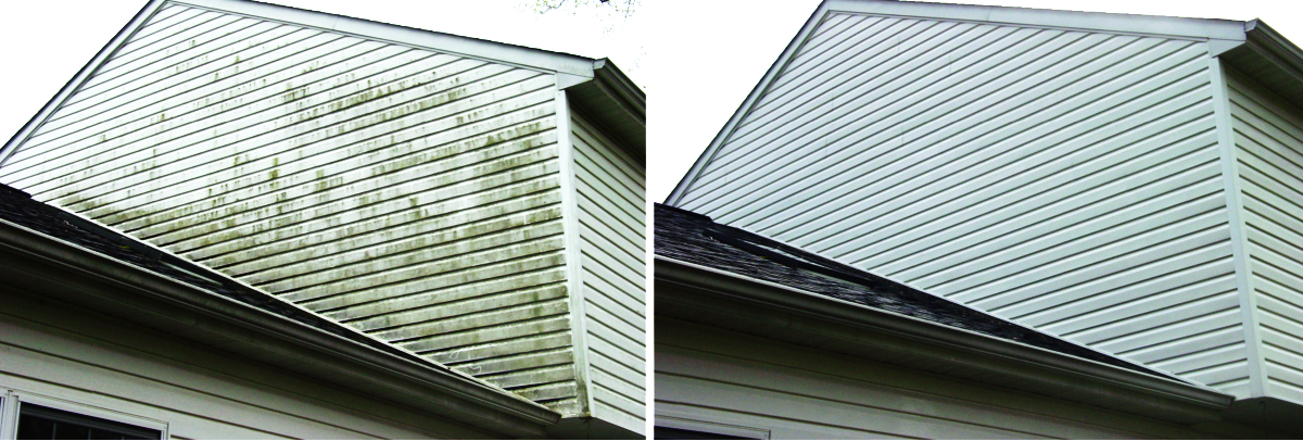pressure washing siding to sell a house in MD