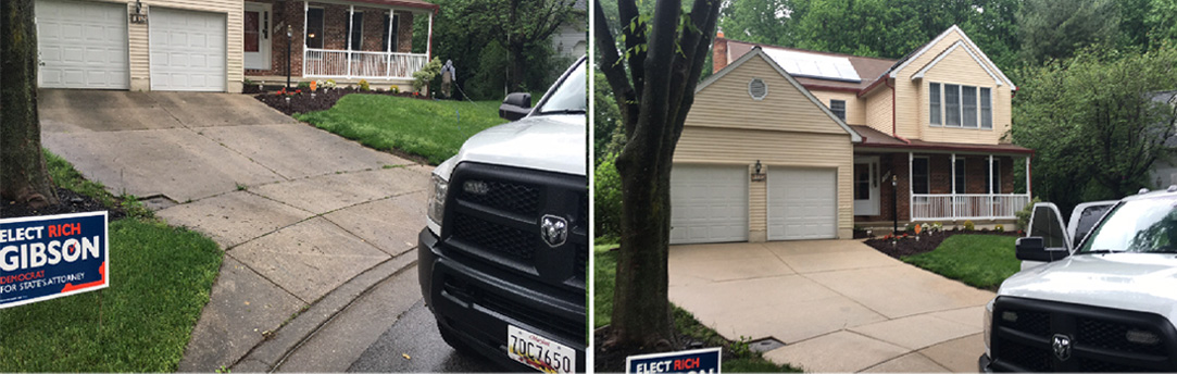 Featured Work - Annapolis, MD | House and Concrete Cleaning