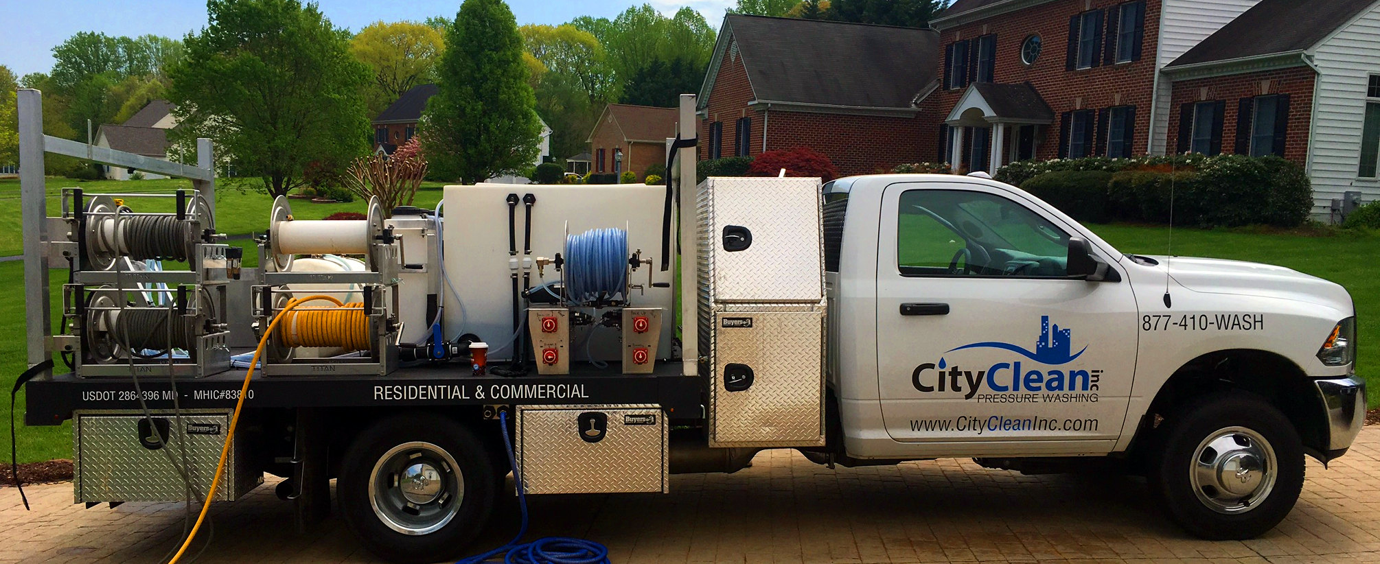 City Clean Inc  - House Washing in Maryland